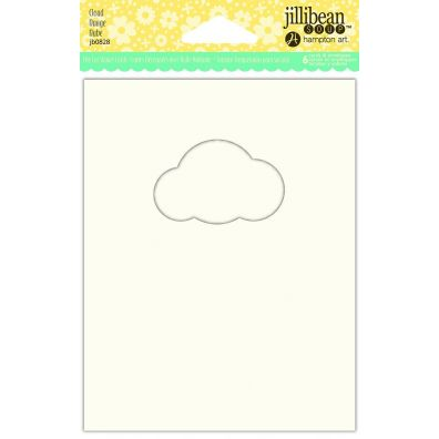 Jillibean Shaker Card - Cloud