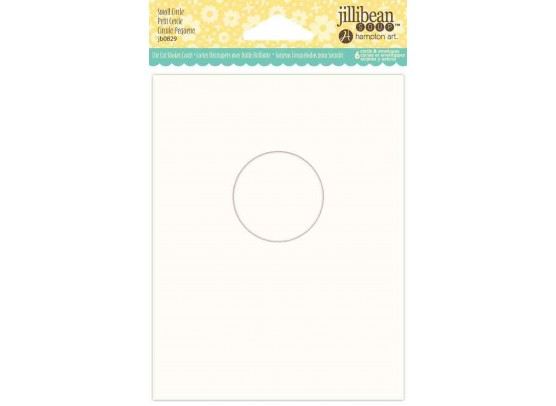 Jillibean Shaker Card - Small Circle