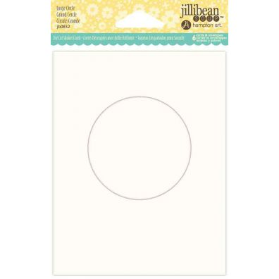 Jillibean Shaker Card - Large Circle