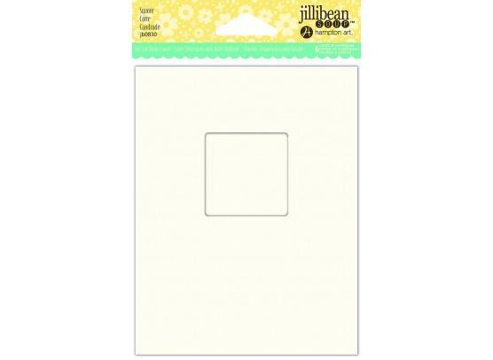 Jillibean Shaker Card - Square