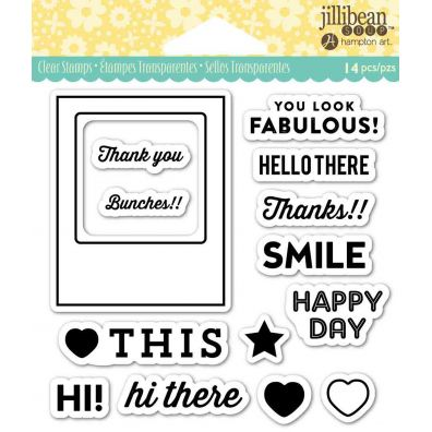 Jillibean Clear Stamp - Fabulous