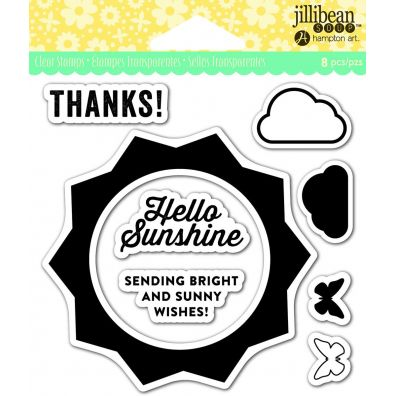 Jillibean Clear Stamp - Sunshine