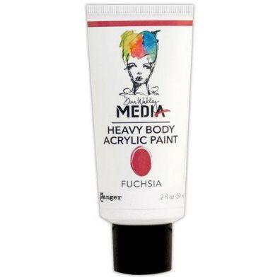 Dina Wakley Heavy Body Acrylic Paint - Fuchsia