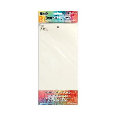 Dylusions Journaling Tags 12 inch - Mixed Media