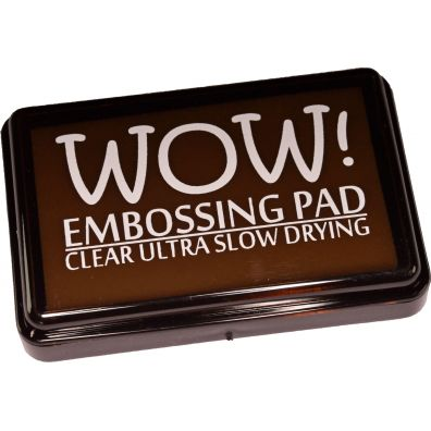 Wow Embossing Pad - Clear Ultra slow drying