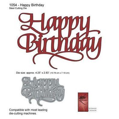 Elizabeth Craft Happy Birthday Dies