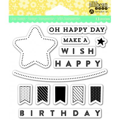 Jillibean Clear Stamp - Oh Happy Day