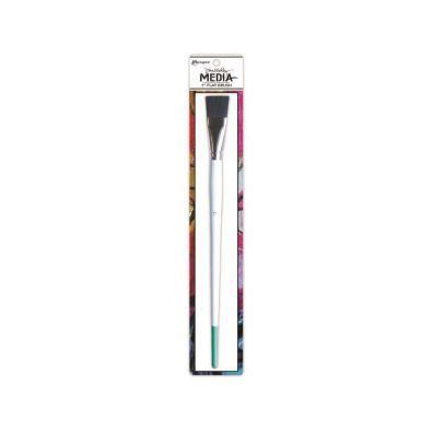 Dina Wakley Stiff Bristle Flat Brush 1 inch