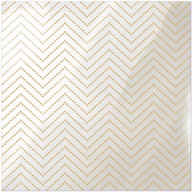 We R Memorykeepers Clearly Posh - chevron Dot Gold