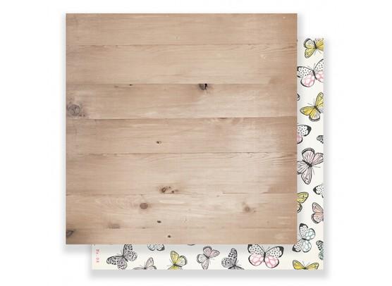 Crate Bloom Mønsterpapir - Flutter fra Maggie Holmes