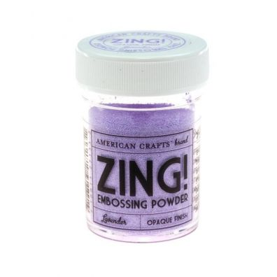 Zing Embossing pulver Lavender