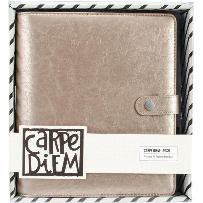 Carpe Diem A5 Planner Boxed Set Platinum Simple Stories