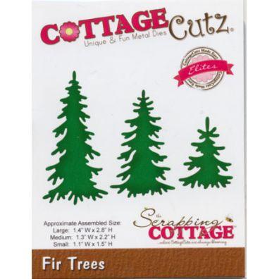 Cottage Cutz dies – Fir Trees