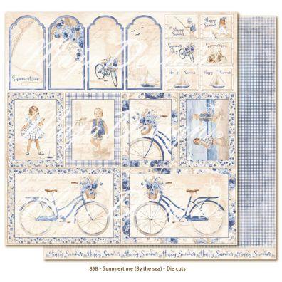 Summertime – by the sea Die cuts mønsterpapir fra Maja Design