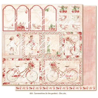 Summertime – In the garden Die Cuts mønsterpapir fra Maja Design