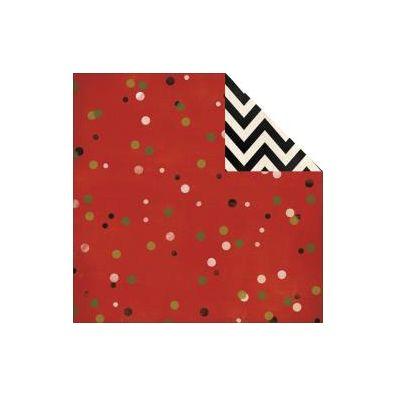 My Minds Eye Sleigh Bells Ring - Christmas Confetti mønsterpapir