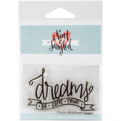 Neat & Tangled Clear Stamp - Dreams