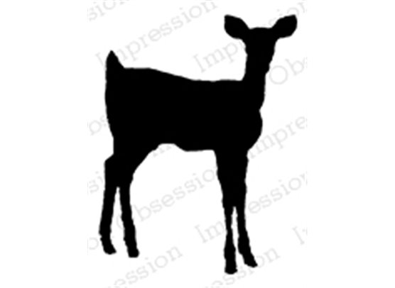 Impression Obsession Cling Stempel - Deer Silhouette 2