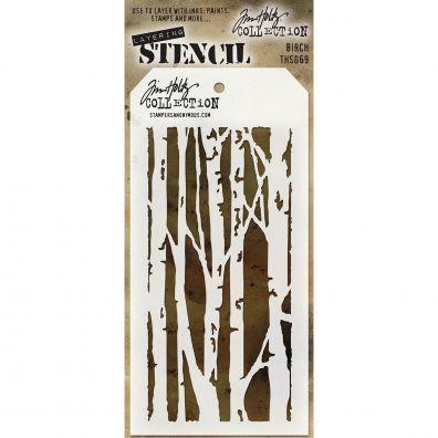 Tim Holtz Stencil/ Mask – Birch