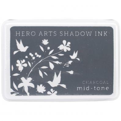 Hero Arts Shadow Ink Mid-tone Charcoal