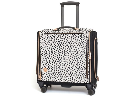 360 Crafter's Bag trolley - Rose Gold Dalmatian