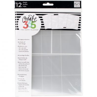 Create 365 Happy Planner - Page Protectors
