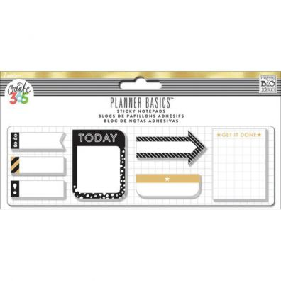 Create 365 Happy Planner - Sticky Notes Gold