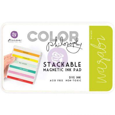 Prima Marketing Color Philosophy Dye Ink Pad-Wasabi