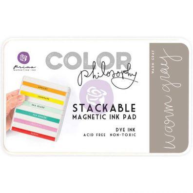 Prima Marketing Color Philosophy Dye Ink Pad-Warm Gray