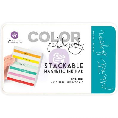 Prima Marketing Color Philosophy Dye Ink Pad-Private Lagoon