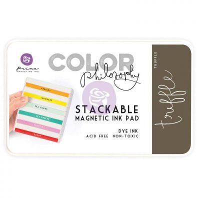 Prima Marketing Color Philosophy Dye Ink Pad-Truffle