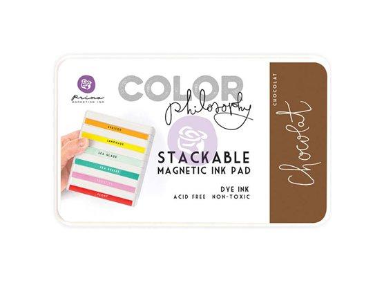 Prima Marketing Color Philosophy Dye Ink Pad-Chocolat