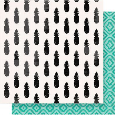 "Oasis Double-Sided Cardstock 12""X12""-Sunshine"