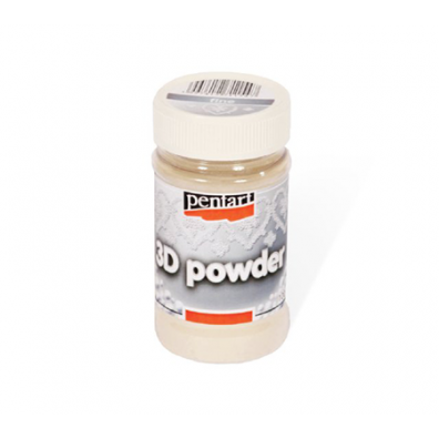 Pentart 3D powder Fin 100 ml.