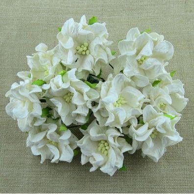 Gardenia Flowers Ivory 35 mm