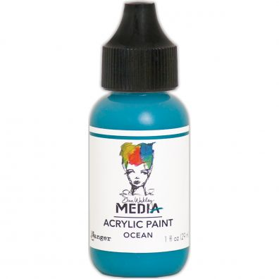"Dina Wakley - Media Acrylic Paint ""Ocean"""