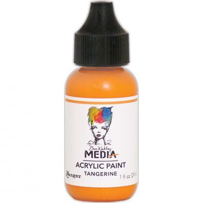 """Dina Wakley - Media Acrylic Paint """"Tangerine"""""""
