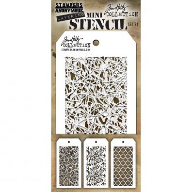 "Tim Holtz - Stencil ""Set 24"""