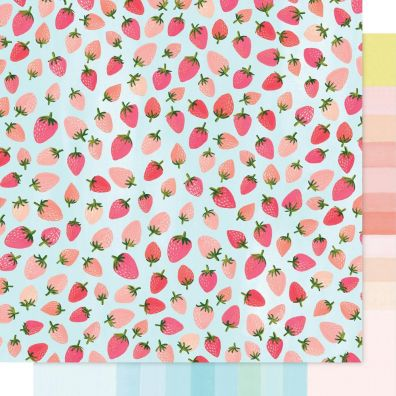 """Hazelwood Double-Sided Cardstock 12""""X12""""-Forest Berry"""