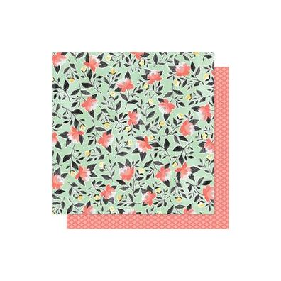 "Hazelwood Double-Sided Cardstock 12""X12""-Hazelwood Roses"