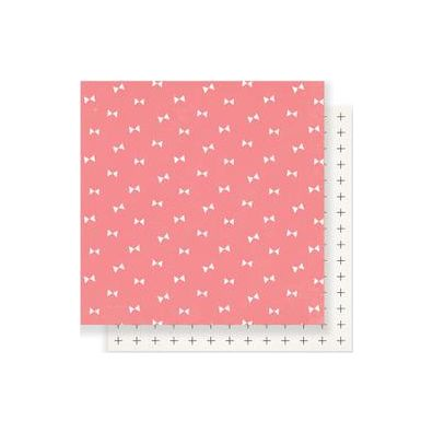"Gather Double-Sided Cardstock 12""X12""-Blush"