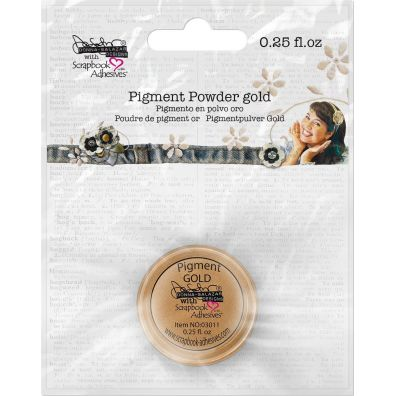 "Scrapbook Adhesives - Pigment Powder ""Gold"""