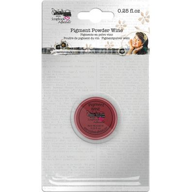 "Scrapbook Adhesives - Pigment Powder ""Wine"""