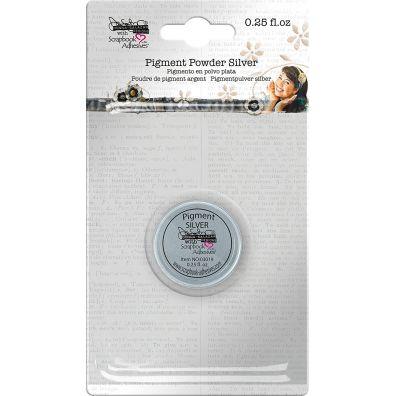 "Scrapbook Adhesives - Pigment Powder ""Silver"""