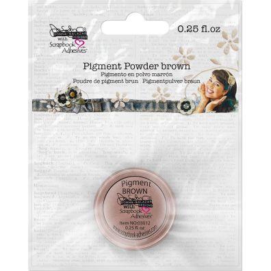 """Scrapbook Adhesives - Pigment Powder """"Brown"""""""