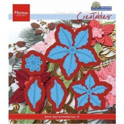 Marianne Design Dies - små Poinsettiaer