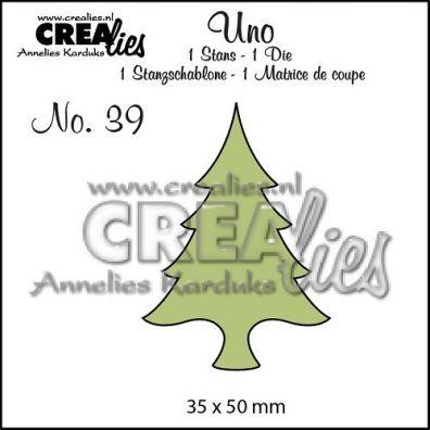 Crealies Dies - Uno Grantræ
