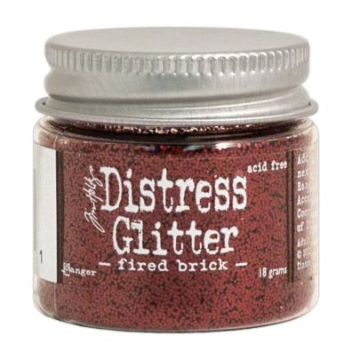 Distressed Glitter - Fired Brick