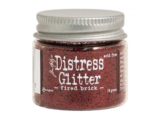 Distressed Glitter - Fired Brick