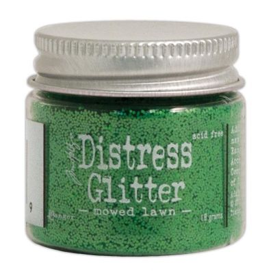 Distressed Glitter - Moved Lawn